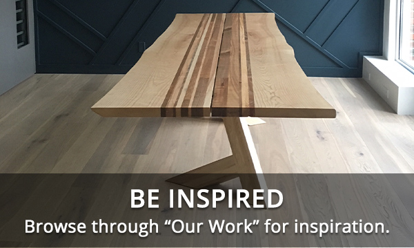 BE INSPIRED - Browse through our work for inspiration.